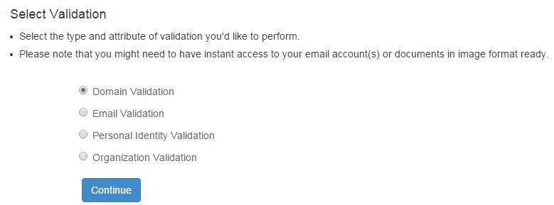 Подтверждение прав на доменное имя на StartSSL